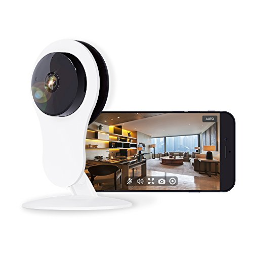 Netvue HD Home Security WiFi Camera, Compatible with Alexa Echo Show